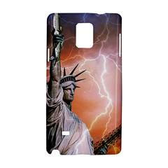 Statue Of Liberty New York Samsung Galaxy Note 4 Hardshell Case