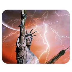 Statue Of Liberty New York Double Sided Flano Blanket (medium)