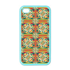 Eye Catching Pattern Apple Iphone 4 Case (color)