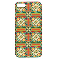 Eye Catching Pattern Apple Iphone 5 Hardshell Case With Stand