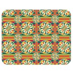 Eye Catching Pattern Double Sided Flano Blanket (Medium)  60 x50 Blanket Back