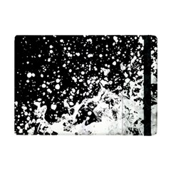 Black And White Splash Texture Ipad Mini 2 Flip Cases