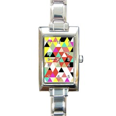 Bonjour Rectangle Italian Charm Watch
