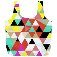 Bonjour Full Print Recycle Bags (l)