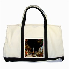Church Decoration Night Two Tone Tote Bag