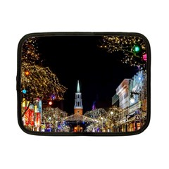 Church Decoration Night Netbook Case (small)