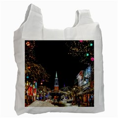 Church Decoration Night Recycle Bag (two Side)