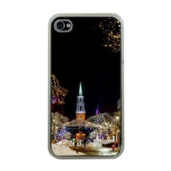 Church Decoration Night Apple Iphone 4 Case (clear)