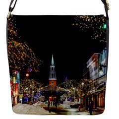 Church Decoration Night Flap Messenger Bag (s)