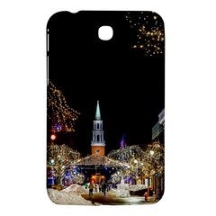 Church Decoration Night Samsung Galaxy Tab 3 (7 ) P3200 Hardshell Case