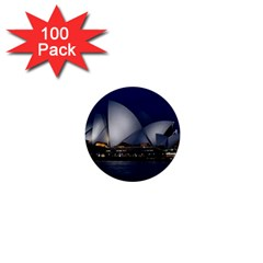Landmark Sydney Opera House 1  Mini Buttons (100 Pack)