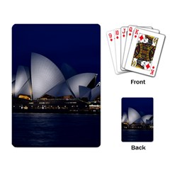 Landmark Sydney Opera House Playing Card