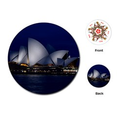 Landmark Sydney Opera House Playing Cards (round)