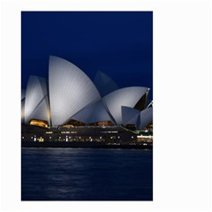 Landmark Sydney Opera House Small Garden Flag (two Sides)