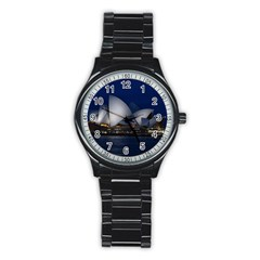 Landmark Sydney Opera House Stainless Steel Round Watch