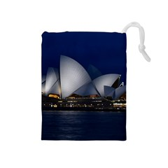 Landmark Sydney Opera House Drawstring Pouches (medium)