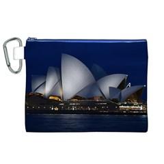 Landmark Sydney Opera House Canvas Cosmetic Bag (xl)