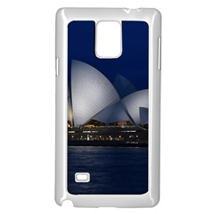 Landmark Sydney Opera House Samsung Galaxy Note 4 Case (white)