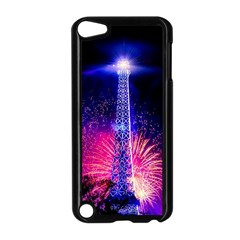 Paris France Eiffel Tower Landmark Apple Ipod Touch 5 Case (black)