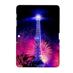 Paris France Eiffel Tower Landmark Samsung Galaxy Tab 2 (10 1 ) P5100 Hardshell Case