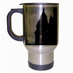Prambanan Temple Indonesia Jogjakarta Travel Mug (silver Gray)