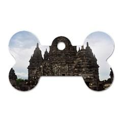 Prambanan Temple Indonesia Jogjakarta Dog Tag Bone (one Side)