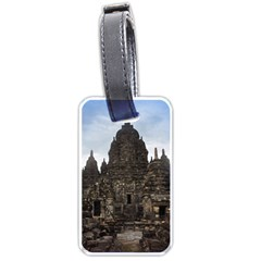 Prambanan Temple Indonesia Jogjakarta Luggage Tags (one Side)