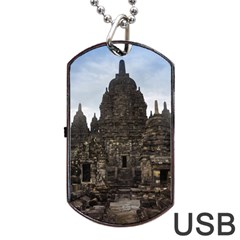 Prambanan Temple Indonesia Jogjakarta Dog Tag Usb Flash (two Sides)