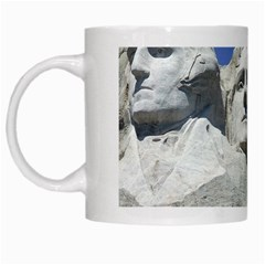 Mount Rushmore Monument Landmark White Mugs