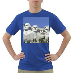Mount Rushmore Monument Landmark Dark T Shirt