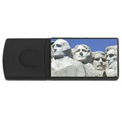 Mount Rushmore Monument Landmark Rectangular Usb Flash Drive
