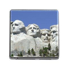 Mount Rushmore Monument Landmark Memory Card Reader (square)