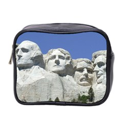 Mount Rushmore Monument Landmark Mini Toiletries Bag 2 Side