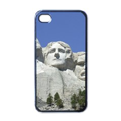 Mount Rushmore Monument Landmark Apple Iphone 4 Case (black)