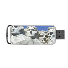 Mount Rushmore Monument Landmark Portable Usb Flash (one Side)