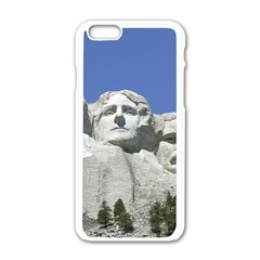 Mount Rushmore Monument Landmark Apple Iphone 6/6s White Enamel Case