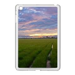 Landscape Sunset Sky Sun Alpha Apple Ipad Mini Case (white)