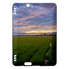 Landscape Sunset Sky Sun Alpha Kindle Fire Hdx Hardshell Case