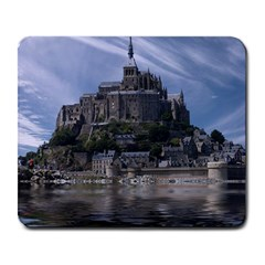 Mont Saint Michel France Normandy Large Mousepads