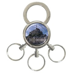 Mont Saint Michel France Normandy 3 Ring Key Chains