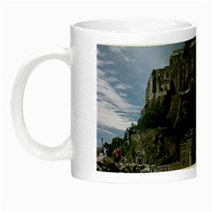 Mont Saint Michel France Normandy Night Luminous Mugs