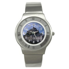 Mont Saint Michel France Normandy Stainless Steel Watch