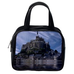 Mont Saint Michel France Normandy Classic Handbags (one Side)