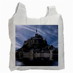 Mont Saint Michel France Normandy Recycle Bag (two Side)