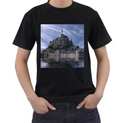 Mont Saint Michel France Normandy Men s T Shirt (black)