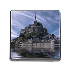 Mont Saint Michel France Normandy Memory Card Reader (square)