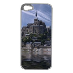 Mont Saint Michel France Normandy Apple Iphone 5 Case (silver)