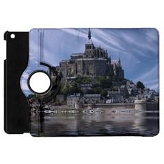 Mont Saint Michel France Normandy Apple Ipad Mini Flip 360 Case