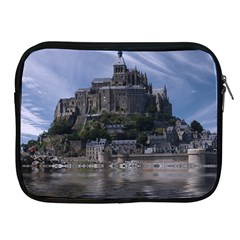 Mont Saint Michel France Normandy Apple Ipad 2/3/4 Zipper Cases