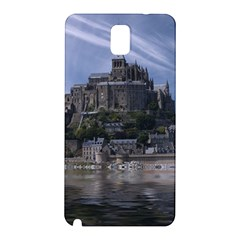 Mont Saint Michel France Normandy Samsung Galaxy Note 3 N9005 Hardshell Back Case